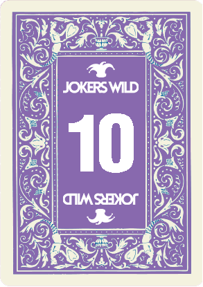 Buy a Jokers Wild Louisville raffle ticket today! Jokers Wild Card 10