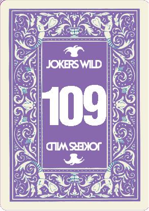 Buy a Jokers Wild Live raffle ticket today! Jokers Wild Card 109