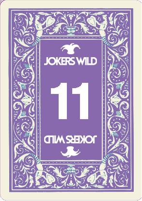 Buy a Jokers Wild Louisville raffle ticket today! Jokers Wild Card 11