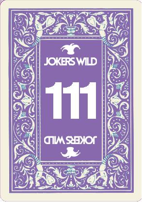 Buy a Jokers Wild Live raffle ticket today! Jokers Wild Card 111