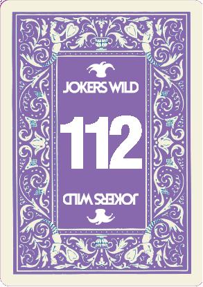 Buy a Jokers Wild Live raffle ticket today! Jokers Wild Card 112