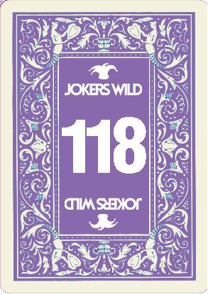 Buy a Jokers Wild Live raffle ticket today! Jokers Wild Card 118