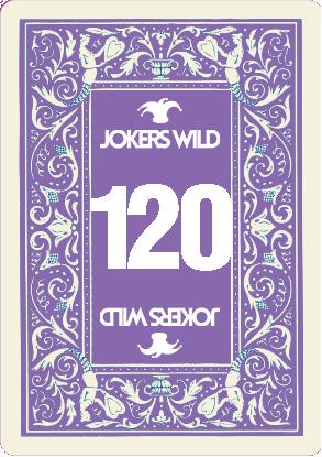 Buy a Jokers Wild Live raffle ticket today! Jokers Wild Card 120