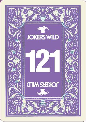 Buy a Jokers Wild Live raffle ticket today! Jokers Wild Card 121