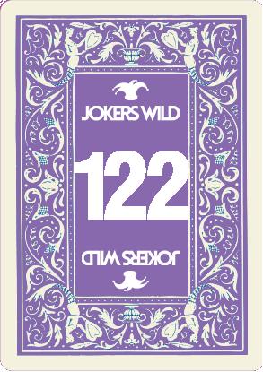 Buy a Jokers Wild Live raffle ticket today! Jokers Wild Card 122
