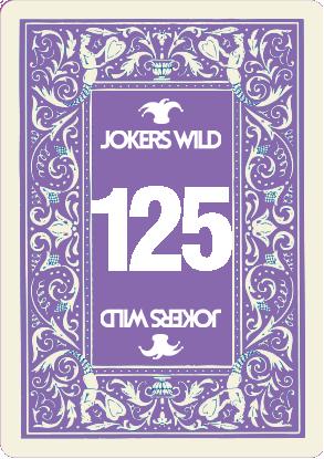 Buy a Jokers Wild Live raffle ticket today! Jokers Wild Card 125