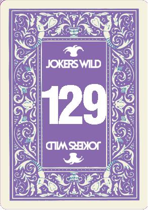 Buy a Jokers Wild raffle ticket today! Jokers Wild Card 129