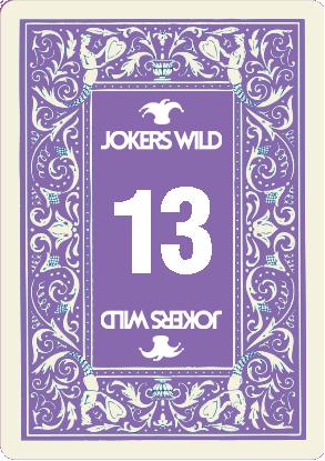 Buy a Jokers Wild Louisville raffle ticket today! Jokers Wild Card 13