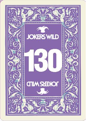 Buy a Jokers Wild raffle ticket today! Jokers Wild Card 130