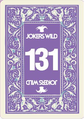 Buy a Jokers Wild raffle ticket today! Jokers Wild Card 131