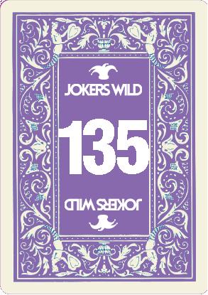 Buy a Jokers Wild raffle ticket today! Jokers Wild Card 135