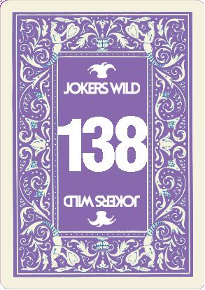 Buy a Jokers Wild raffle ticket today! Jokers Wild Card 138