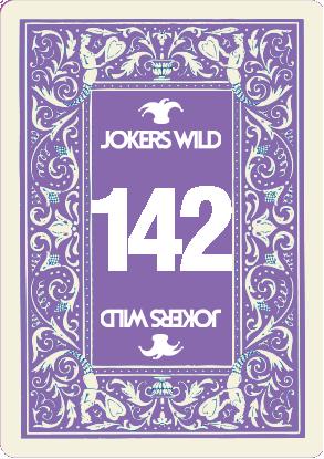 Buy a Jokers Wild raffle ticket today! Jokers Wild Card 142