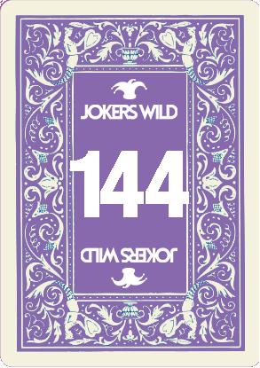 Buy a Jokers Wild raffle ticket today! Jokers Wild Card 144