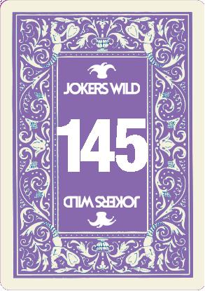 Buy a Jokers Wild raffle ticket today! Jokers Wild Card 145