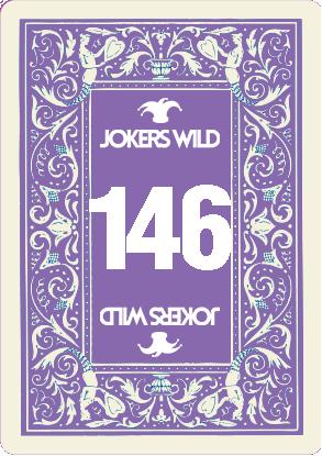 Buy a Jokers Wild raffle ticket today! Jokers Wild Card 146