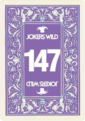 Buy a Jokers Wild raffle ticket today! Jokers Wild Card 147