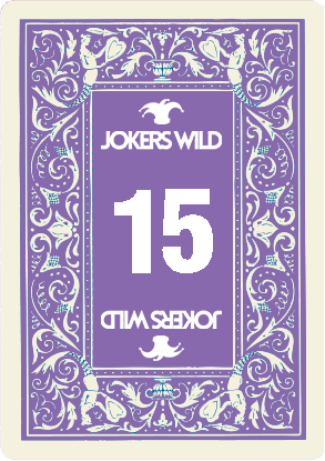 Buy a Jokers Wild Louisville raffle ticket today! Jokers Wild Card 15