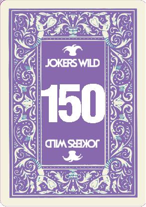Buy a Jokers Wild raffle ticket today! Jokers Wild Card 150