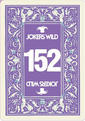 Buy a Jokers Wild raffle ticket today! Jokers Wild Card 152