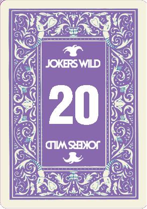 Buy a Jokers Wild Louisville raffle ticket today! Jokers Wild Card 20