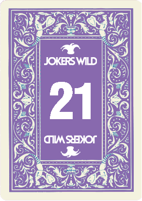 Buy a Jokers Wild Louisville raffle ticket today! Jokers Wild Card 21