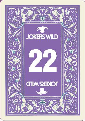 Buy a Jokers Wild Louisville raffle ticket today! Jokers Wild Card 22