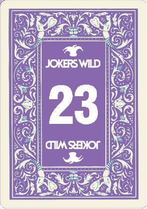Buy a Jokers Wild Louisville raffle ticket today! Jokers Wild Raffle Card 23