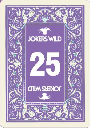 Buy a Jokers Wild Louisville raffle ticket today! Jokers Wild Raffle Card 25