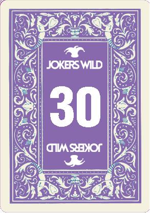 Buy a Jokers Wild Louisville raffle ticket today! Jokers Wild Raffle Card 30