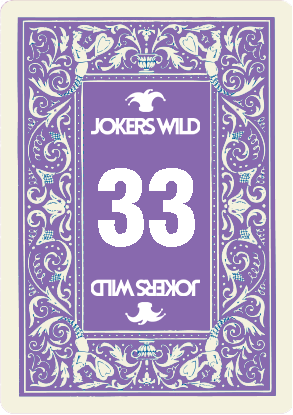 Buy a Jokers Wild Louisville raffle ticket today! Jokers Wild Raffle Card 33