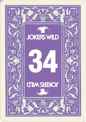 Buy a Jokers Wild Louisville raffle ticket today! Jokers Wild Raffle Card 34
