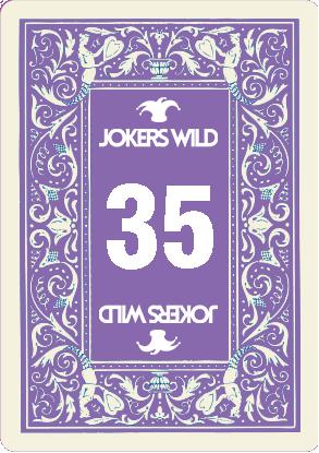 Buy a Jokers Wild Louisville raffle ticket today! Jokers Wild Raffle Card 35