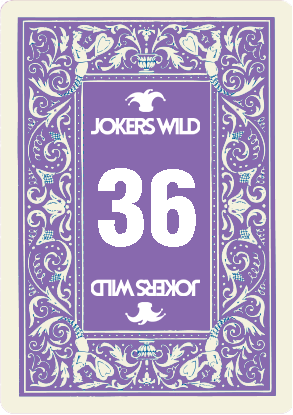 Buy a Jokers Wild Louisville raffle ticket today! Jokers Wild Raffle Card 36