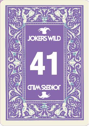 Buy a Jokers Wild Louisville raffle ticket today! Jokers Wild Raffle Card 41