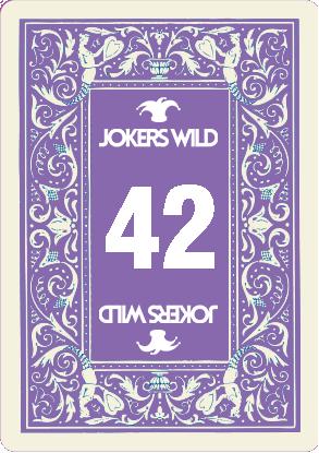Buy a Jokers Wild Louisville raffle ticket today! Jokers Wild Raffle Card 42