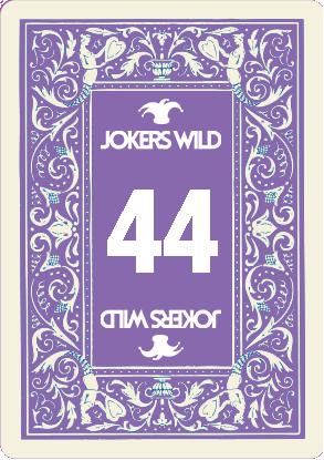 Buy a Jokers Wild Louisville raffle ticket today! Jokers Wild Raffle Card 44