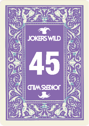 Buy a Jokers Wild Louisville raffle ticket today! Jokers Wild Raffle Card 45