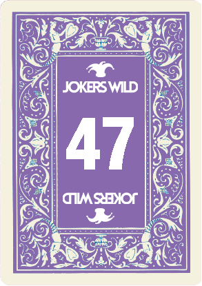 Buy a Jokers Wild Louisville raffle ticket today! Jokers Wild Raffle Card 47