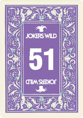 Buy a Jokers Wild Louisville raffle ticket today! Jokers Wild Raffle Card 51