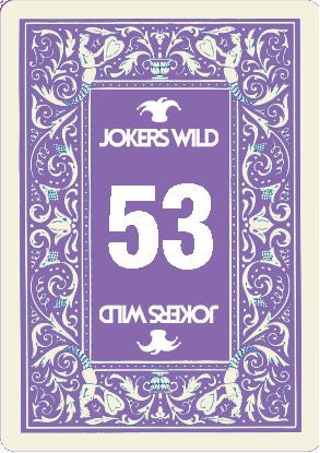 Buy a Jokers Wild Louisville raffle ticket today! Jokers Wild Raffle Card 53
