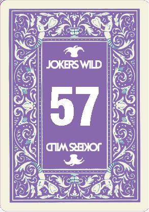 Buy a Jokers Wild Louisville raffle ticket today! Jokers Wild Raffle Card 57