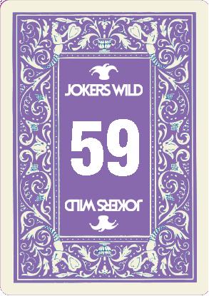 Buy a Jokers Wild Louisville raffle ticket today! Jokers Wild Raffle Card 59