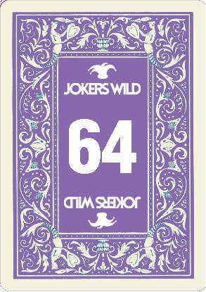 Buy a Jokers Wild Louisville raffle ticket today! Jokers Wild Raffle Card 64