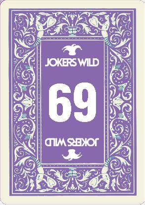 Buy a Jokers Wild Louisville raffle ticket today! Jokers Wild Raffle Card 69