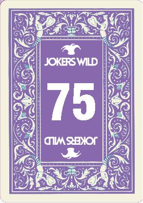 Buy a Jokers Wild Louisville raffle ticket today! Jokers Wild Raffle Card 75