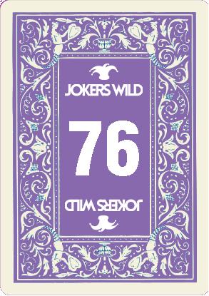 Buy a Jokers Wild Louisville raffle ticket today! Jokers Wild Raffle Card 76