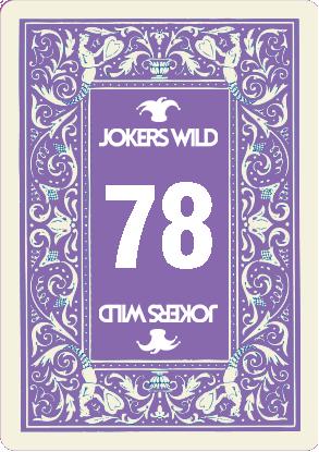 Buy a Jokers Wild Louisville raffle ticket today! Jokers Wild Raffle Card 78