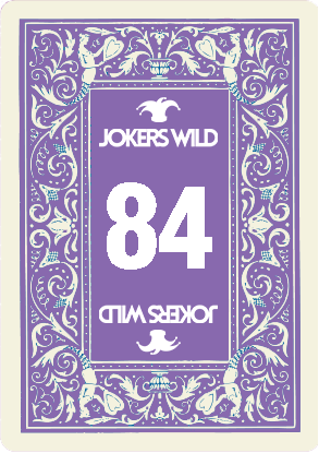 Buy a Jokers Wild Louisville raffle ticket today! Jokers Wild Raffle Card 84