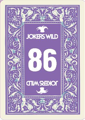 Buy a Jokers Wild Louisville raffle ticket today! Jokers Wild Raffle Card 86